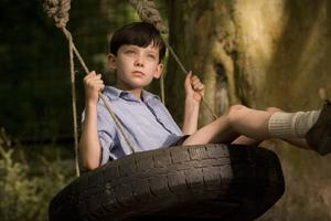 "A scene from ""The Boy in the Striped Pajamas."""
