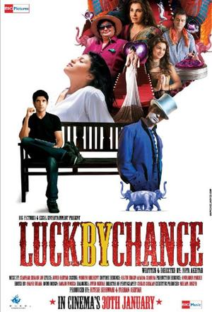 """Poster Art for """"Luck by Chance."""""""