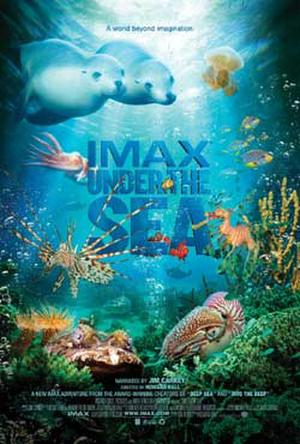 """Poster art for """"Under the Sea."""""""