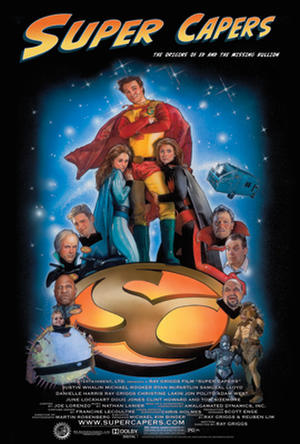 """Poster art for """"Super Capers."""""""