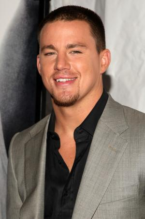 """Channing Tatum at the New York premiere of """"Fighting."""""""