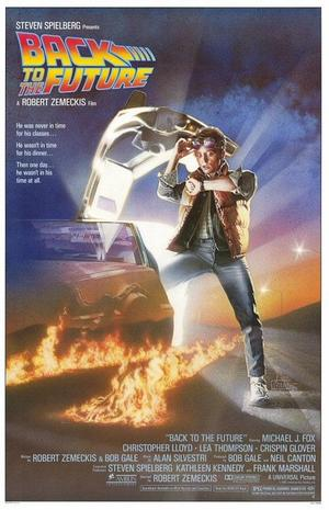 "Poster art for ""Back To The Future."""