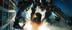 "Wheelbot joins in the battle in ""Transformers: Revenge of the Fallen."""