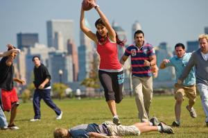 """Katrina Kaif and John Abraham in """"New York."""""""