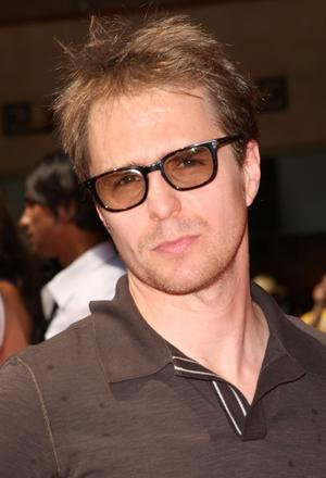 """Sam Rockwell at the California premiere of """"G-Force."""""""