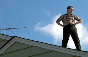 "A scene from ""A Serious Man."""