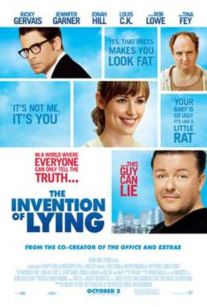 "Poster art for ""The Invention of Lying."""