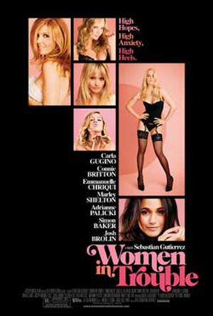 """Poster art for """"Women in Trouble."""""""