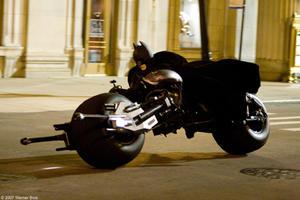 "Christian Bale in ""The Dark Knight."""