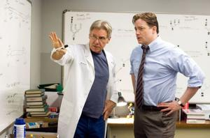 "Harrison Ford and Brendan Fraser in ""Extraordinary Measures."""