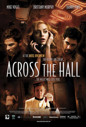 """Poster art for """"Across the Hall."""""""
