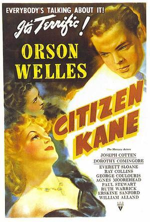 """Poster art for """"Citizen Kane."""""""