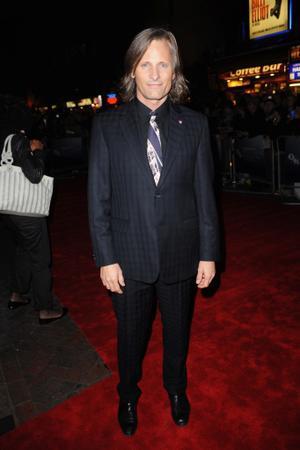 "Viggo Mortensen at the London premiere of ""The Road."""