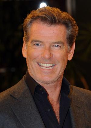 """Pierce Brosnan at the California premiere of """"The Greatest."""""""