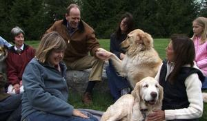"""Livingston Taylor in """"My Dog: An Unconditional Love Story."""""""