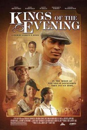 "Poster art for ""Kings of the Evening."""