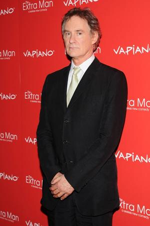 "Kevin Kline at the New York premiere of ""The Extra Man."""