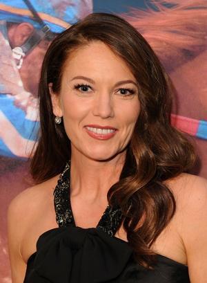 "Diane Lane at the California premiere of ""Secretariat."""