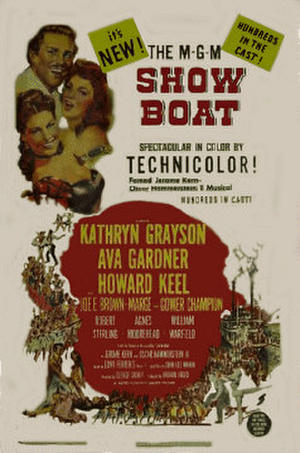 "Poster art for ""Show Boat"""