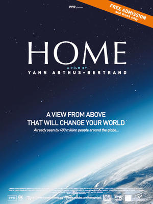 """Poster art for """"Home."""""""