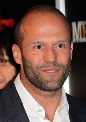 """Jason Statham at the California premiere of """"The Mechanic."""""""