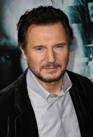 "Liam Neeson at the California premiere of ""Unknown."""