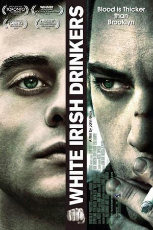 "Poster art for ""White Irish Drinkers."""