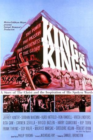 "Poster art for ""King of Kings."""