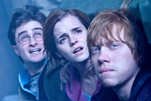 "Daniel Radcliffe, Emma Watson and Rupert Grint in ""Harry Potter and the Deathly Hallows: Part 2."""
