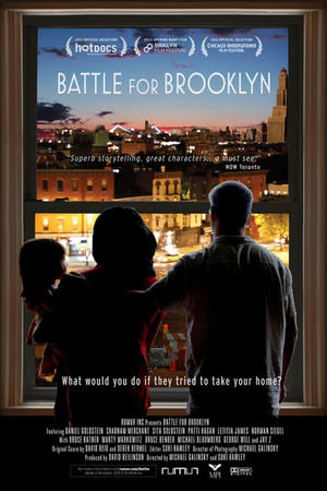 "Poster art for ""Battle for Brooklyn."""