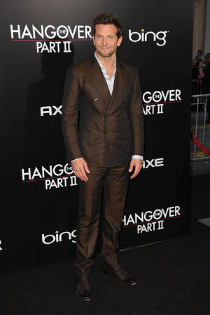 "Bradley Cooper at the California premiere of ""The Hangover Part II."""