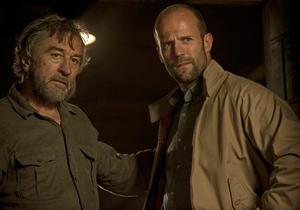 "Robert De Niro and Jason Statham in ""Killer Elite."""