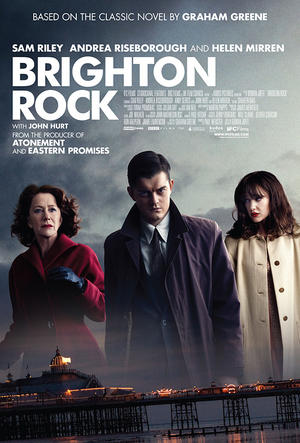 "Poster art for ""Brighton Rock."""