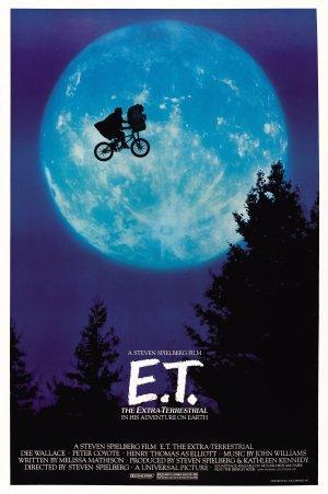"""Poster art for """"E.T."""""""