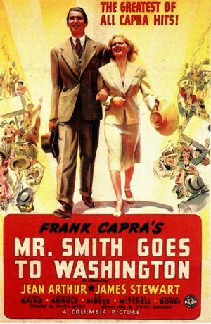 "Poster art for ""Mr. Smith Goes To Washington."""