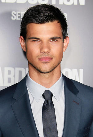 "Taylor Lautner at the California premiere of ""Abduction."""