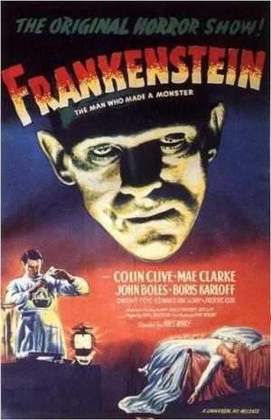 """Poster art for """"Frankenstein."""""""