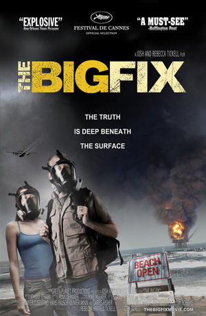 """Poster art for """"The Big Fix."""""""
