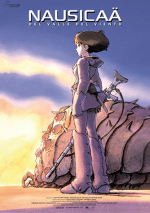 "Poster art for ""Nausicaa, Valley of the Wind."""