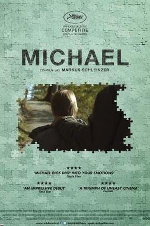 """Poster art for """"Michael."""""""