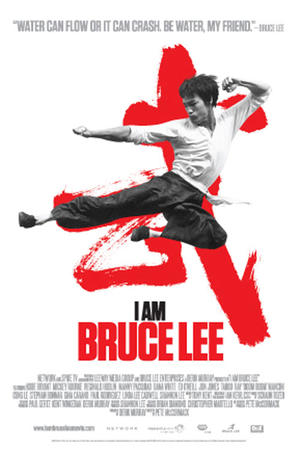 "Poster art for ""I Am Bruce Lee."""
