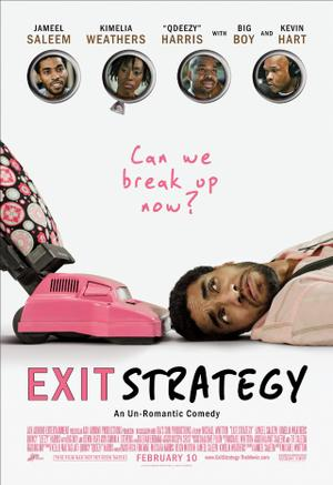 """Poster art for """"Exit Strategy."""""""