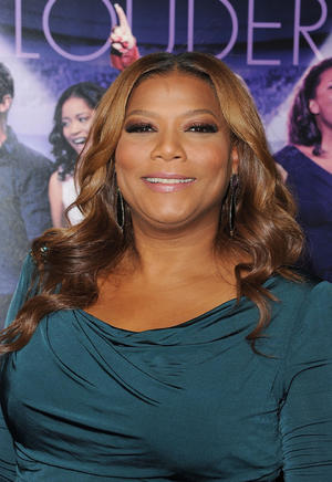 "Queen Latifah at the world premiere of ""Joyful Noise"" in California."