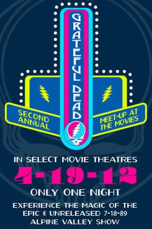 """Poster art for """"Grateful Dead Meet Up 2012."""""""