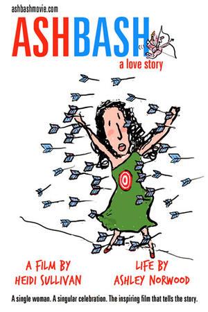 """Poster art for """"Ashbash A Love Story."""""""