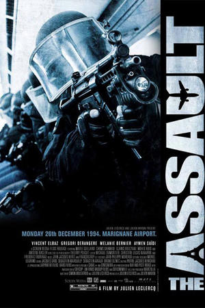 "Poster art for ""The Assault."""