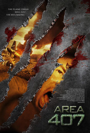 """Poster art for """"Area 407."""""""