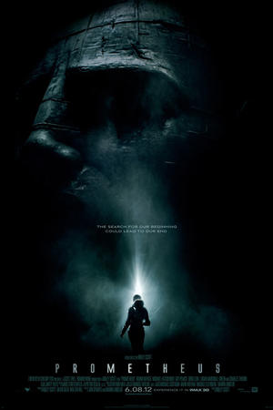 "Poster art for ""Prometheus: An IMAX 3D Experience."""