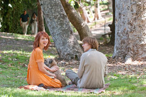 "Zoe Kazan as Ruby and Paul Dano as Calvin in ""Ruby Sparks."""