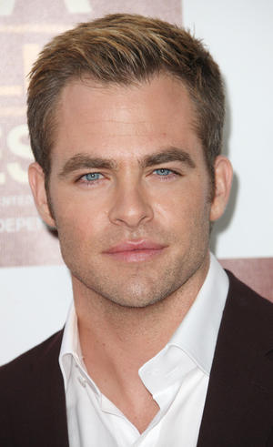 "Chris Pine at the California premiere of ""People Like Us."""